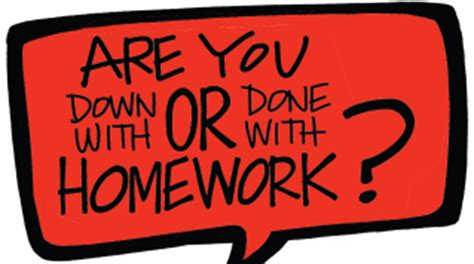 Homework Assignments: Are They Helpful or Harmful?